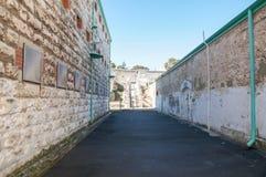 Pareti della prigione di Fremantle Immagini Stock Libere da Diritti