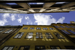 Pareti di Città Vecchia Fotografia Stock