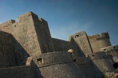 Pareti di Dubrovnik fotografie stock libere da diritti
