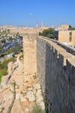 Pareti di Gerusalemme Fotografie Stock