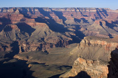 Pareti di grande canyon interne, Arizona, S.U.A. Fotografia Stock