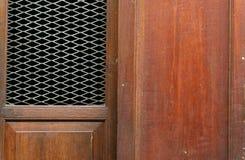 Pareti di legno Fotografia Stock