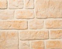 Pareti di muratura del mattone e della pietra Fotografie Stock Libere da Diritti