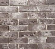 Pareti di muratura del mattone e della pietra Fotografia Stock