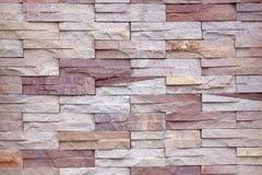 Pareti di pietra. Immagini Stock