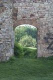 Pareti di pietra fortificate Immagine Stock Libera da Diritti