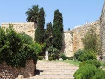 Pareti di Tarragona Immagini Stock