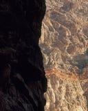 Pareti di Titus Canyon, parco nazionale di Death Valley, California Fotografia Stock