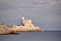Pareti e rocce della fortezza del greco antico Immagine Stock Libera da Diritti