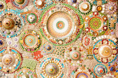 Pareti fatte di vetro, marmo, ceramico e di cristallo Immagini Stock