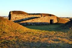 Pareti fortificate villaggio storico di Almeida Fotografie Stock Libere da Diritti