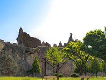 Pareti storiche del ` del sur del ` di Diyarbakir, Turchia fotografie stock