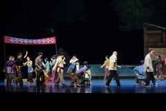 Pareto coletivo que vota a ópera de Jiangxi uma balança romana Imagens de Stock