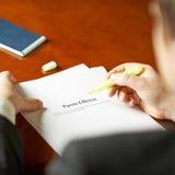 Pareto efficient tax definition composition Stock Photo