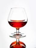 Parexponeringsglas med konjak Royaltyfria Bilder