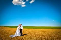 parfältbröllop arkivfoto