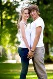 parförälskelse Royaltyfria Foton