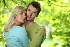 parförälskelse arkivbild