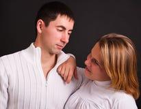 parförälskelse Fotografering för Bildbyråer