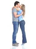 parförälskelse Arkivfoto