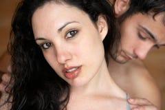 parförälskelse Arkivbilder