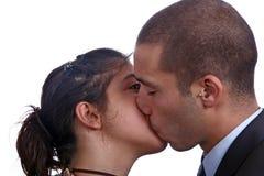 parförälskelsebarn royaltyfria foton