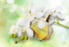 Parfüm, Aromatherapie, Orchidee Stockfotos