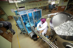 Parfüm-Fabrik in der Türkei Stockfotos