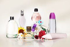 Parfüm - flüchtige Gerüche Lizenzfreies Stockfoto
