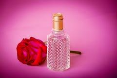 Parfüm und Knospe Stockbild