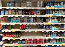 Parfüme und desodorierende Mittel für Männer Stockbild