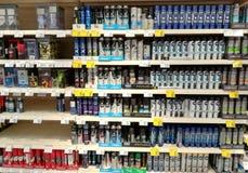 Parfüme und desodorierende Mittel für Männer Lizenzfreies Stockbild