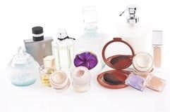 Parfüme und Make-up Stockfoto