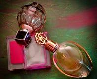 Parfümflaschen Stockfotos