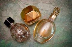 Parfümflaschen Lizenzfreie Stockfotos