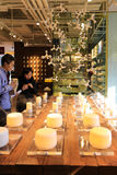 Parfümshop in Chengdu, Porzellan Lizenzfreie Stockbilder