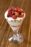 Parfait à yaourt Photographie stock
