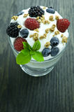 Parfait. Picture of a perfect parfait Royalty Free Stock Images