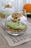 Parfait with avocado Stock Photography