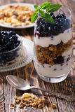 Parfait breakfast Royalty Free Stock Image