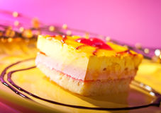 Parfait cake Royalty Free Stock Photos