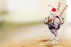Parfait del gelato fotografia stock libera da diritti