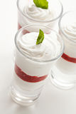 Parfait Dessert Stock Photography