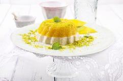 Parfait Dessert with Mango Stock Images