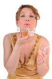 Parfum and beauty woman Stock Photography