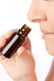 Parfum d'huiles essentielles image stock