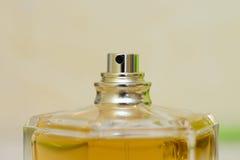 Parfum de jet de bouteille Photos libres de droits