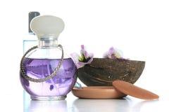 parfum de noix de coco Photos stock