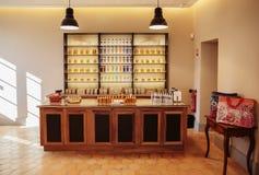 Parfum de parfums de présentation à l'usine Fagonard de parfum photos libres de droits
