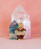 Parfum en Kristallen Stock Foto